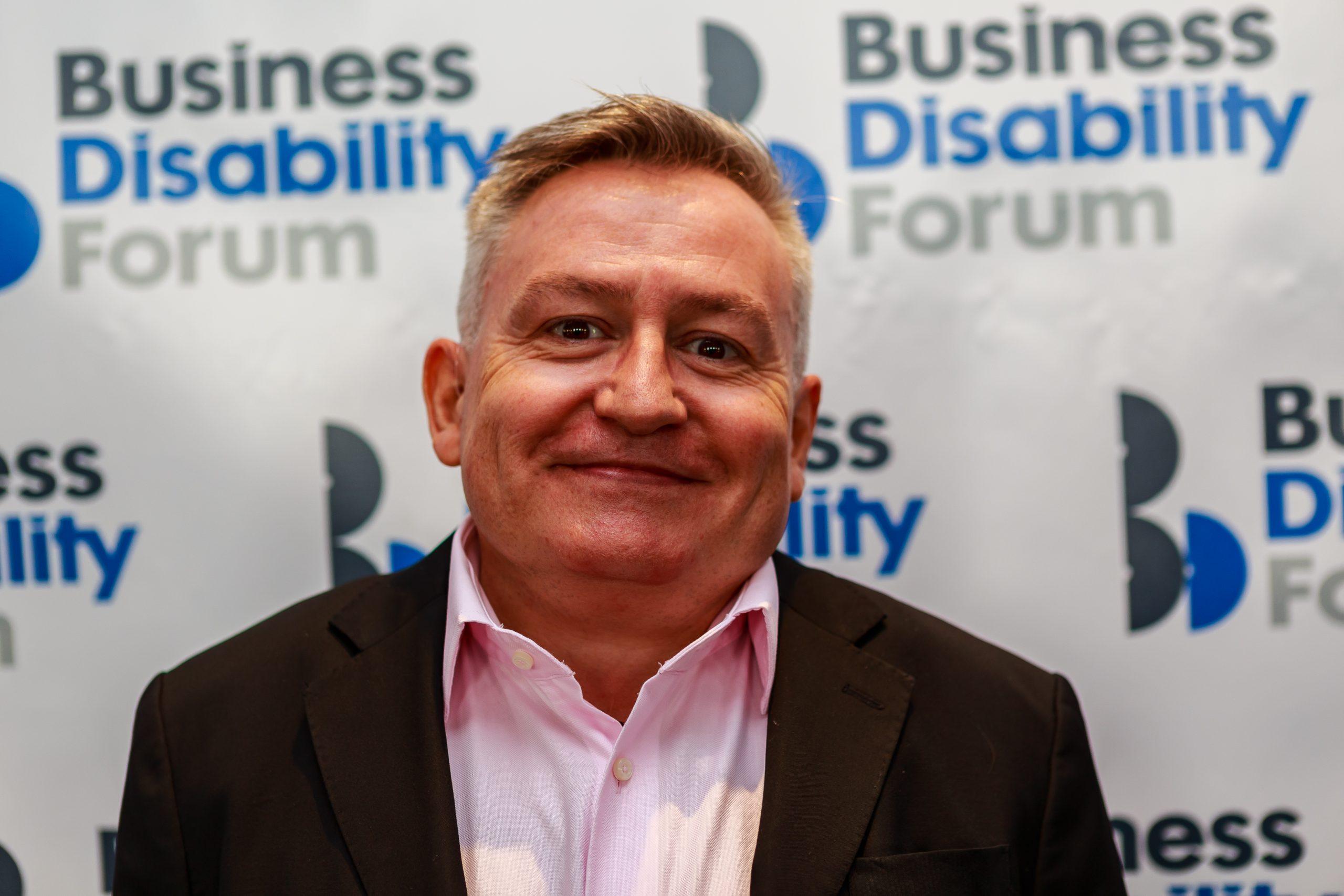 Simon Minty, Business Disability Forum Associate