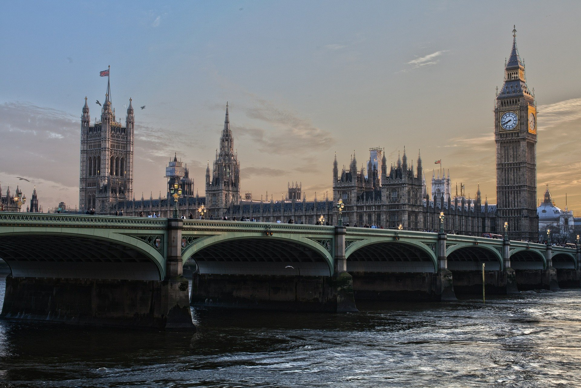 Image of Westminster Bridge and the Palace of Westminster