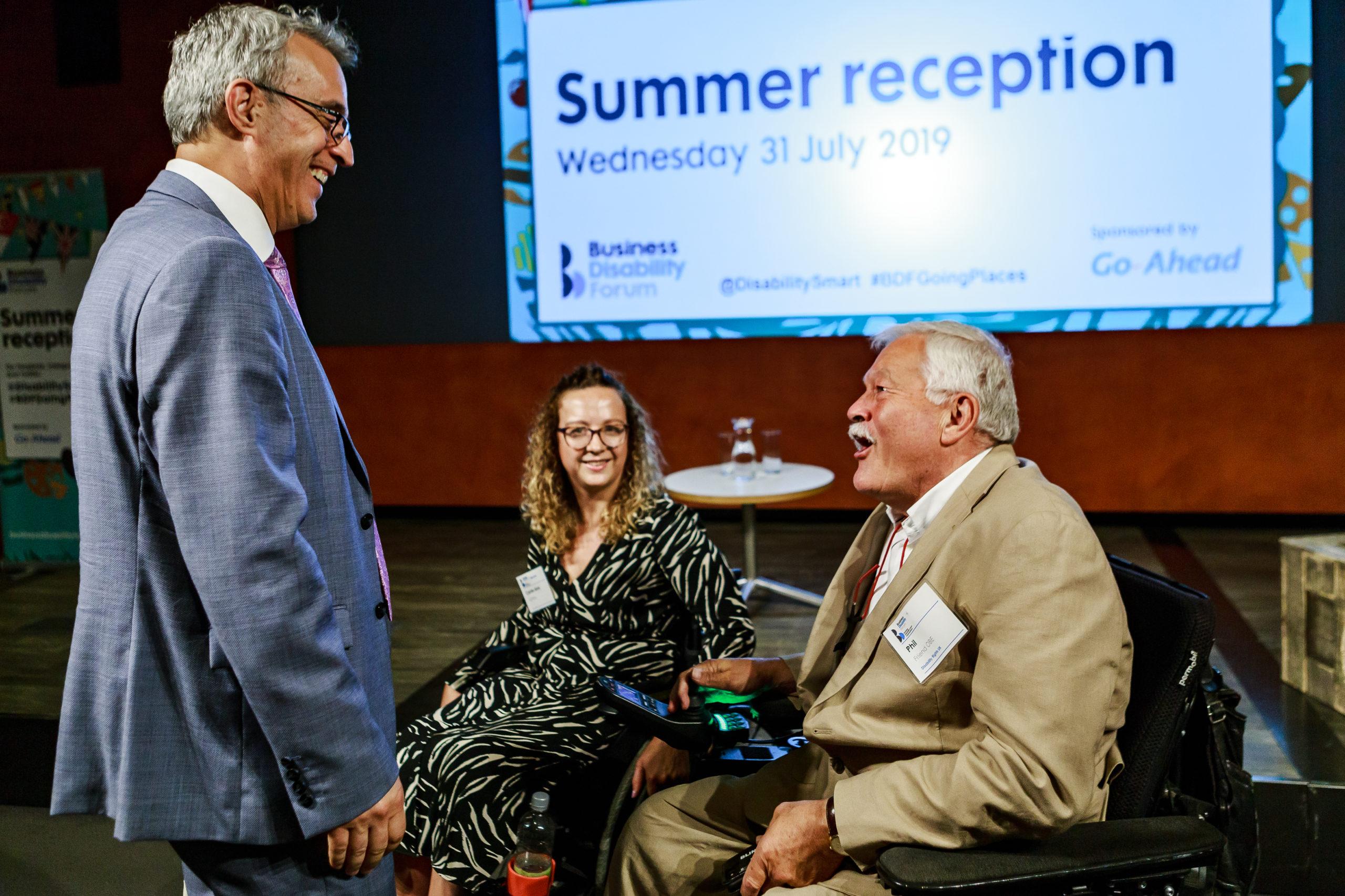 Business Disability Forum Summer Reception 2019
