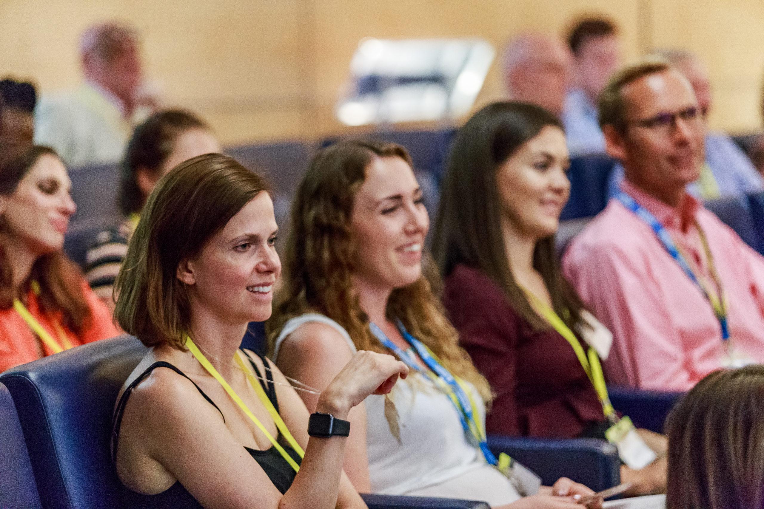 Image of delegates at conference