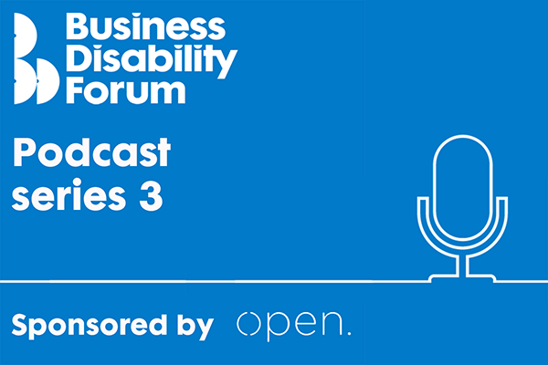 Image of Podcast series 3 with Open logo