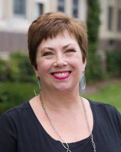 Denise Reed Lamoreaux smiling