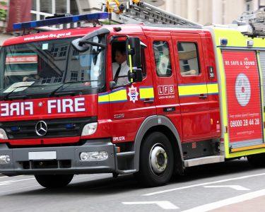 Fire engine brigade