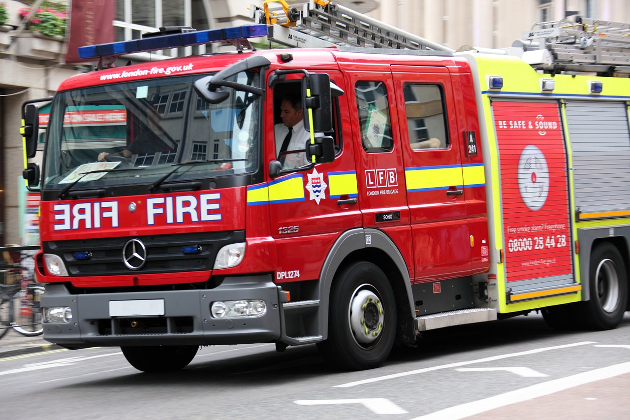 Fire engine brigade