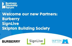 Welcome our new Partners: Burberry, SignLive and Skipton Building Society (with logos)