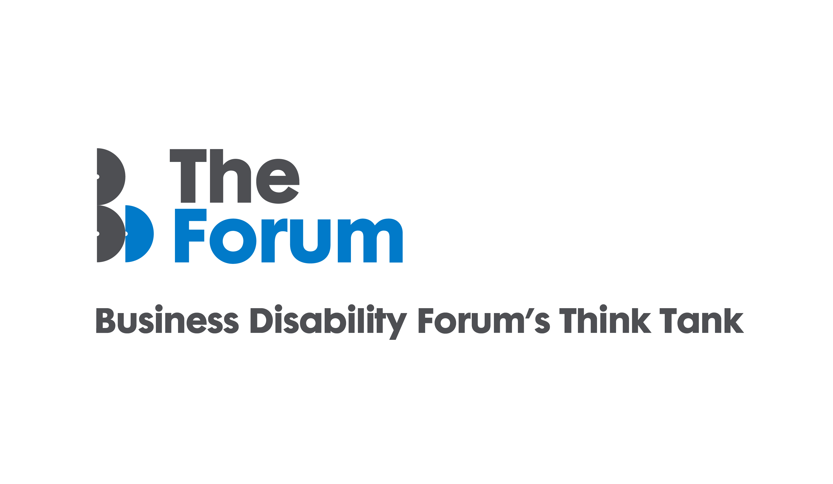 The Forum Business Disability forum's Think Tank logo