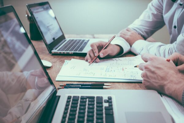 Laptop and statistics