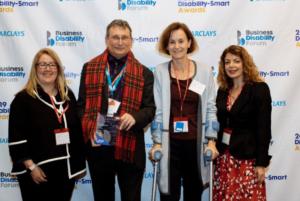 Microsoft's Digital Inclusion Lead,Michael Vermeersch and BDF's CEO, Diane Lightfoot